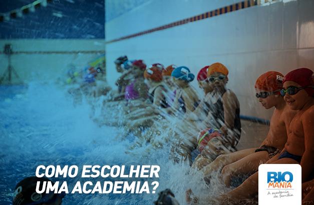 Como Escolher uma Academia