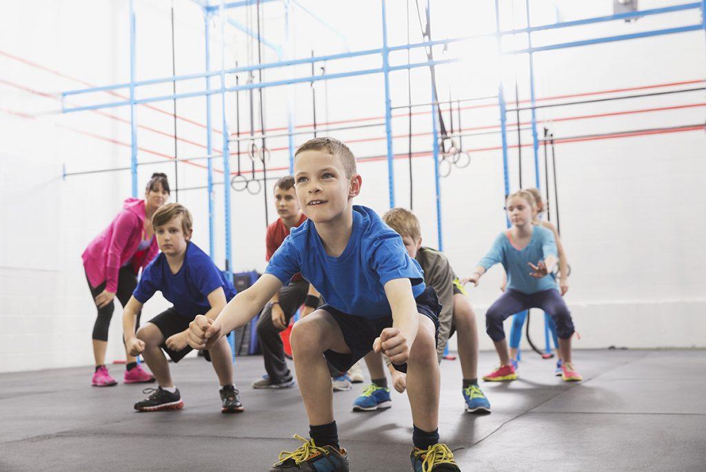 quais atividades fisicas para criancas