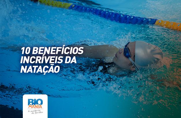 10 benefícios da natação - Imagem destaque