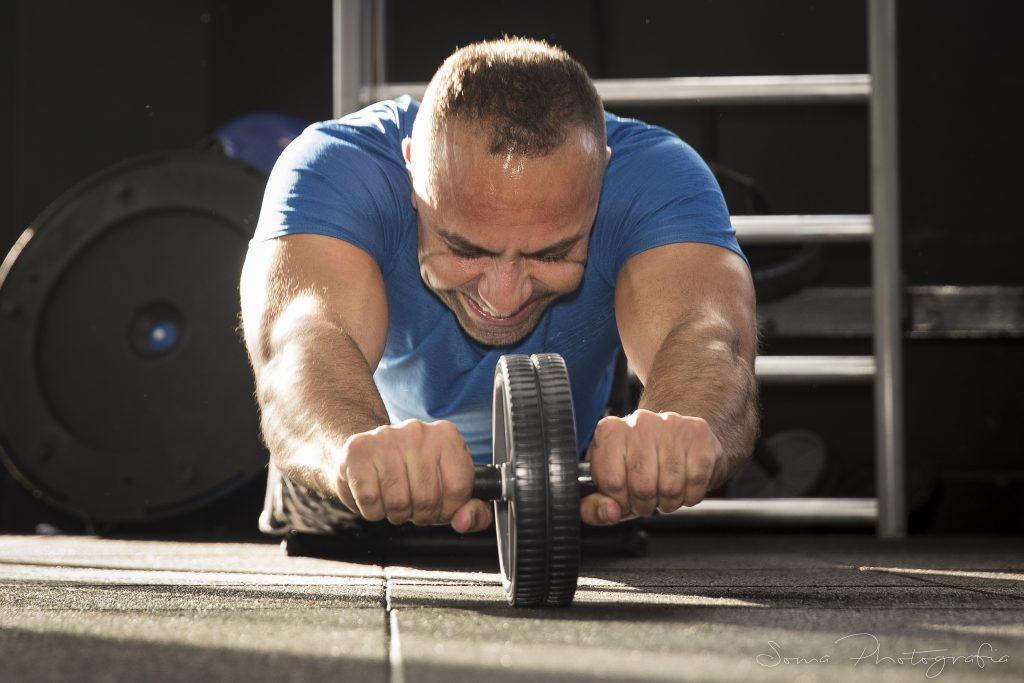Treino de musculação - Respire no momento certo